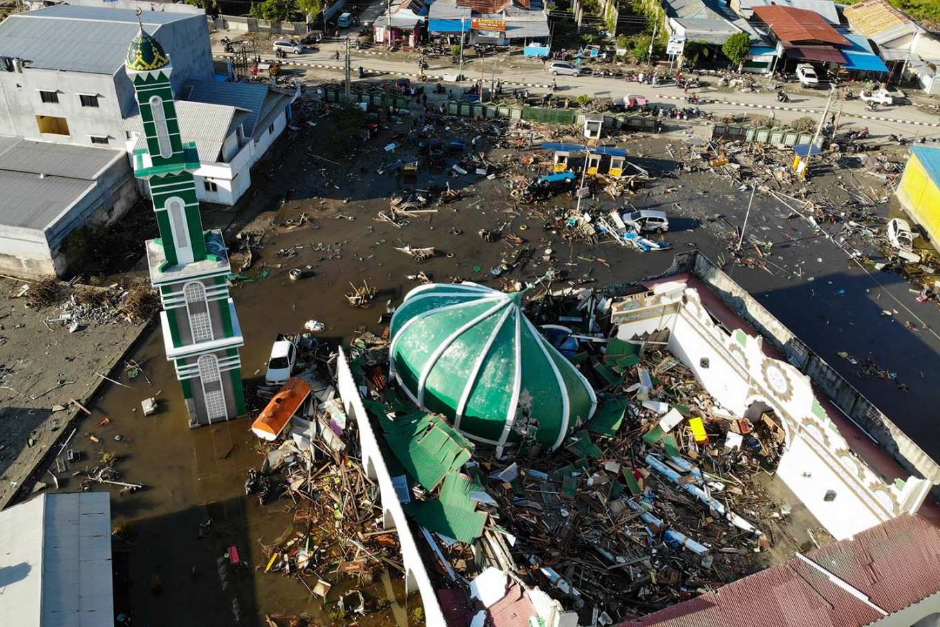 Image result for Central Sulawesi quake, tsunami