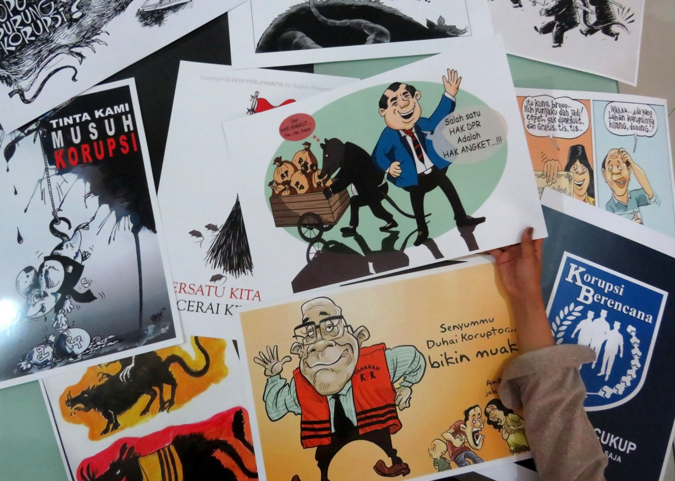 Anti-Corruption Cartoon Exhibition to be held in Malang