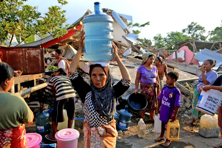 Red tape hinders Lombok reconstruction