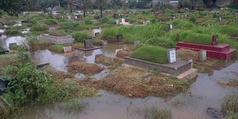 Jakarta to raise land at Tanah Kusir cemetery