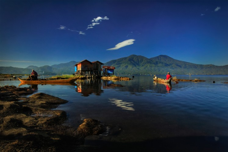 Lake Kerinci in Jambi