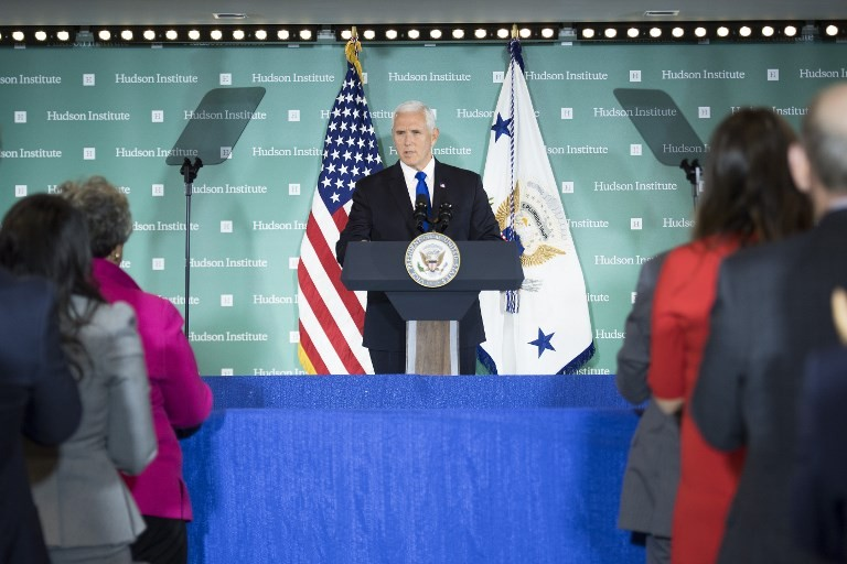 Pence says US to partner in Papua New Guinea military base