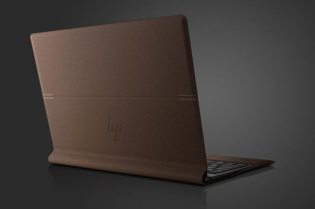 The sleekest laptop you've ever seen is ... leather?
