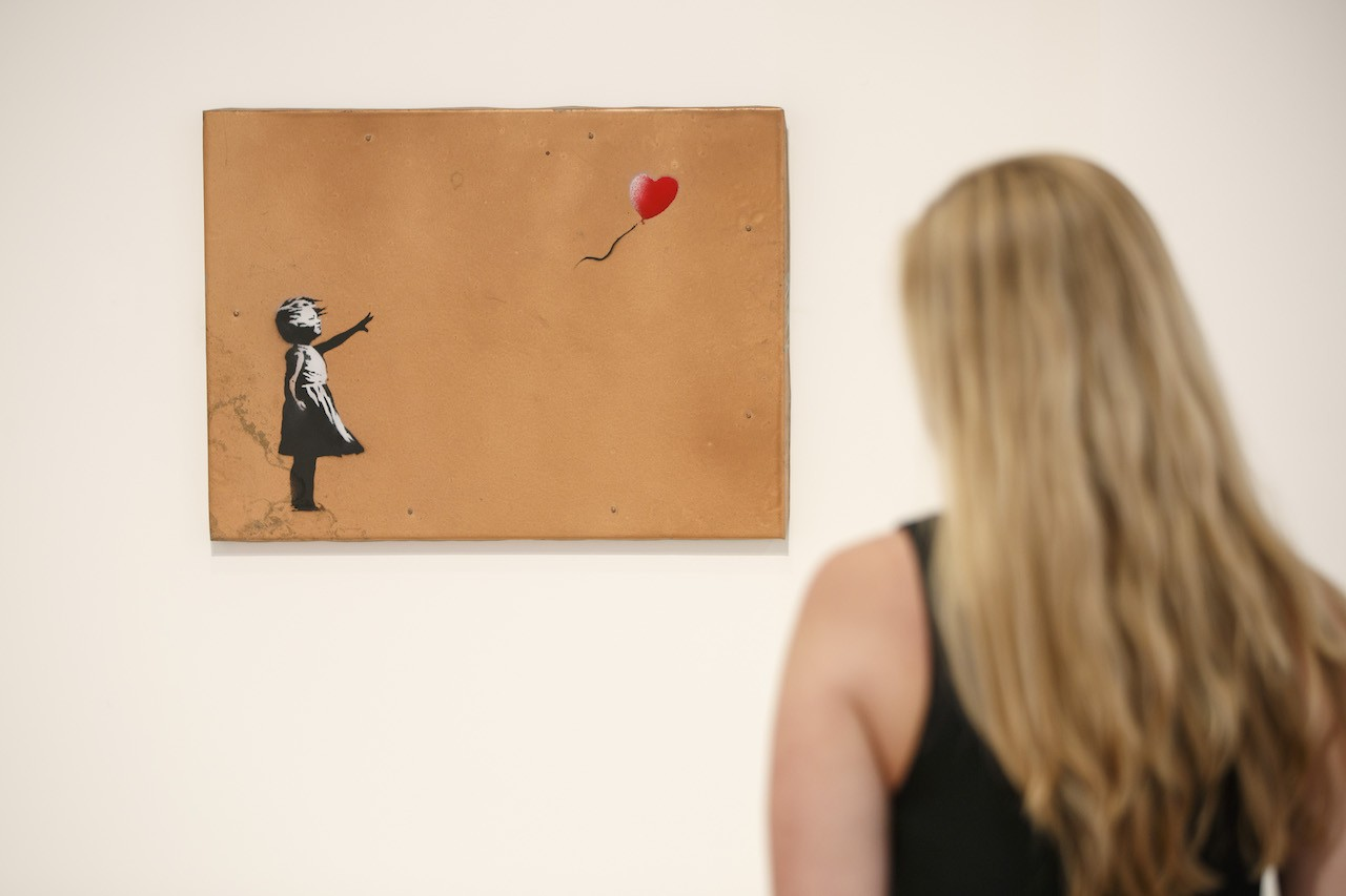 Banksy's works on show in Madrid without his approval