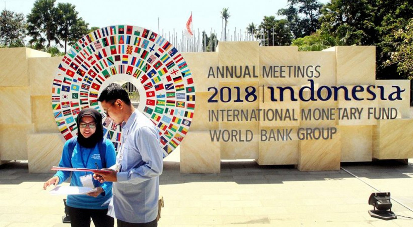 Indonesia set to host IMF-World Bank Annual Meetings in Bali