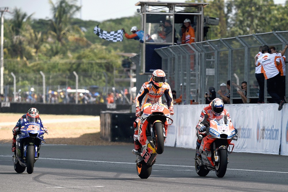 Thailand MotoGP postponed over virus:  Deputy PM