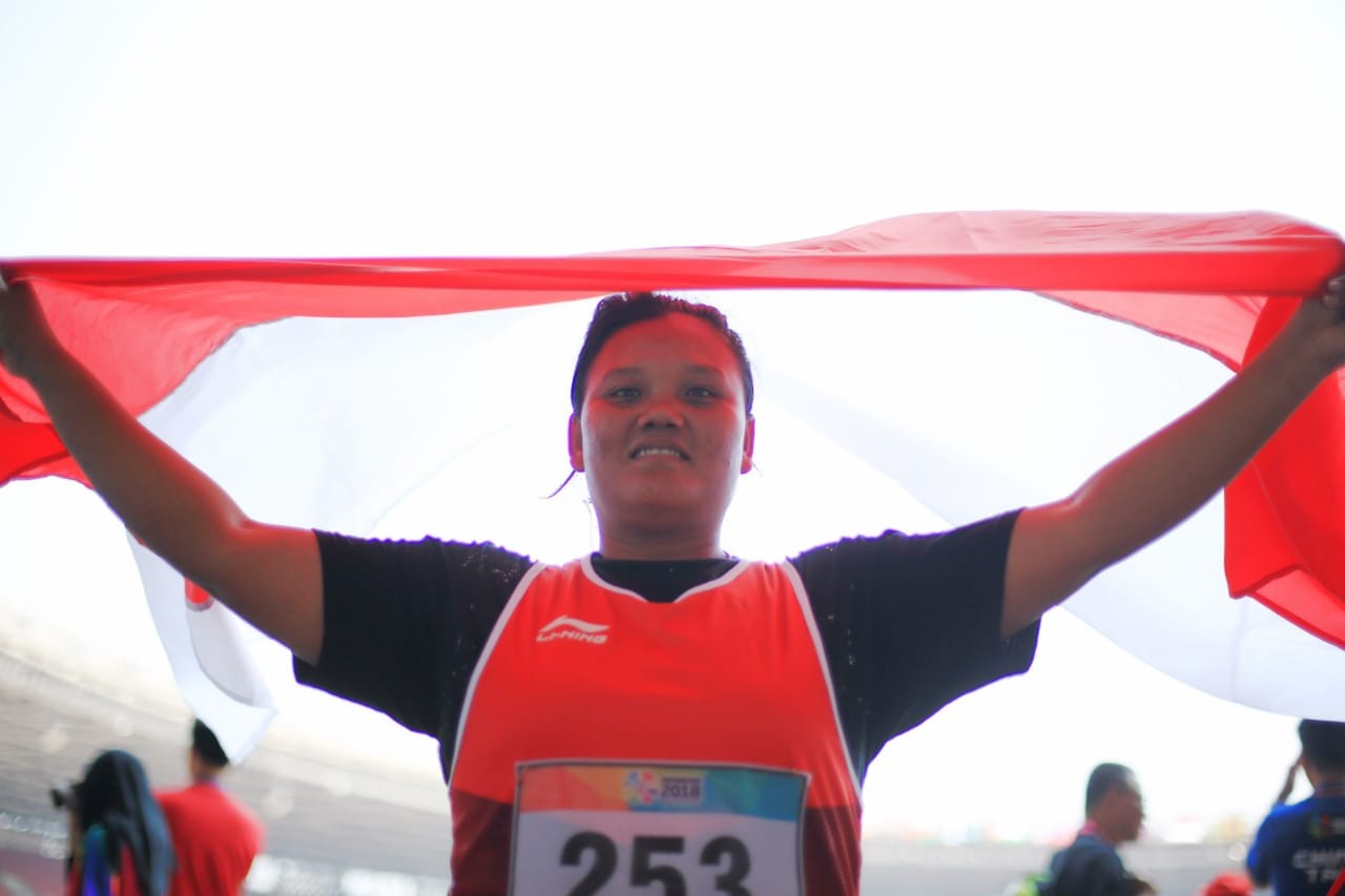 Asian Para Games: Woman shot putter wins Indonesia's second gold medal