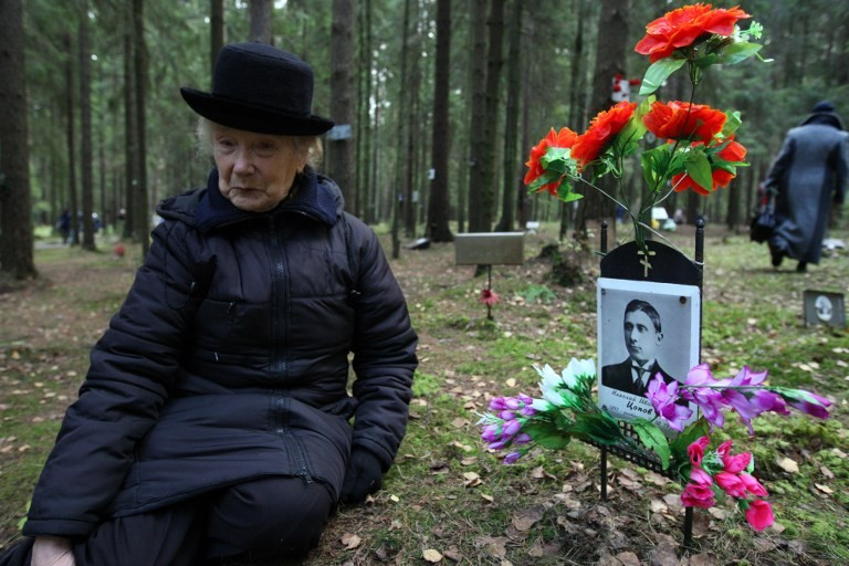 Russian historians use Nazi photo to locate Stalin-era mass graves