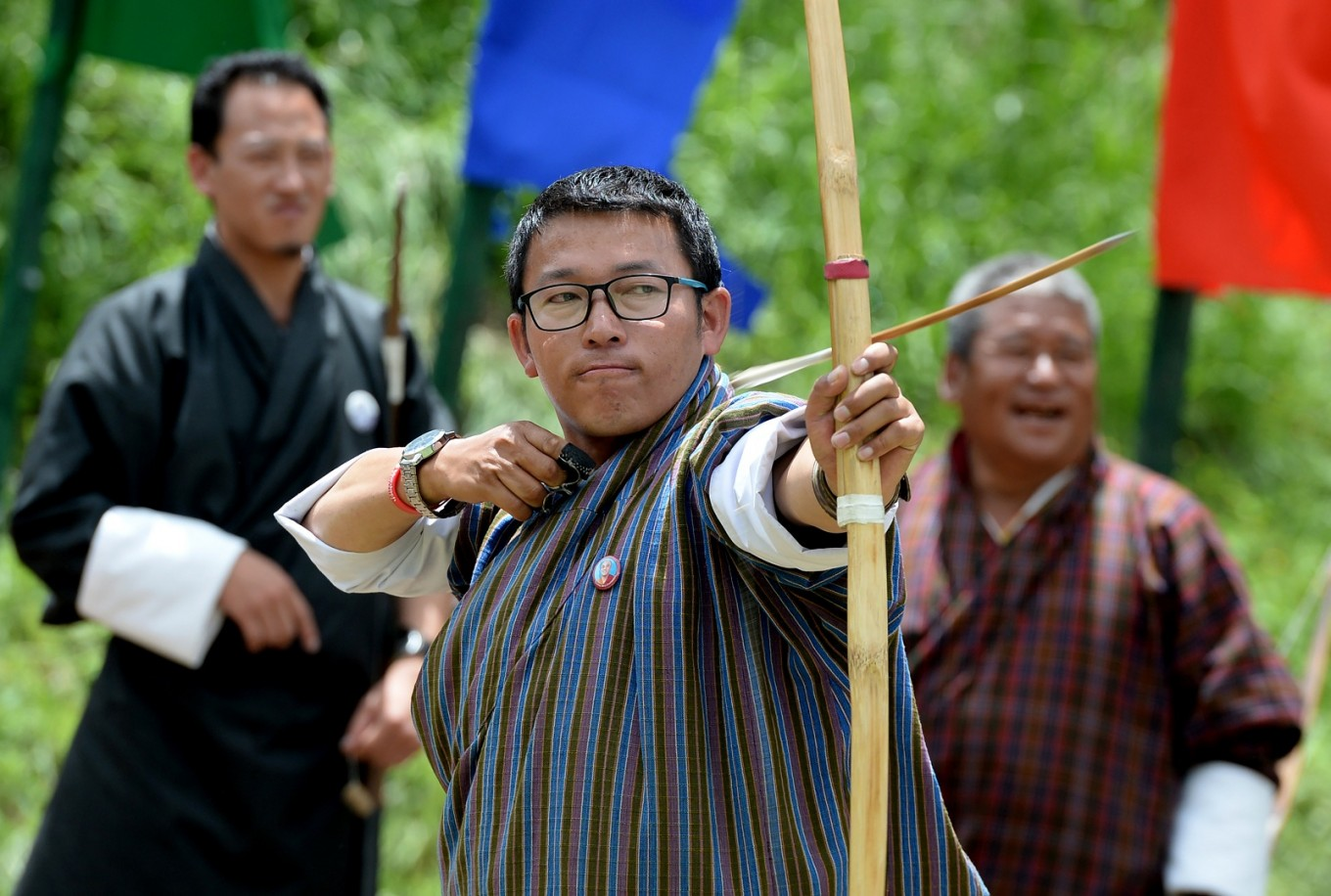 Living by the bow and arrow in Bhutan