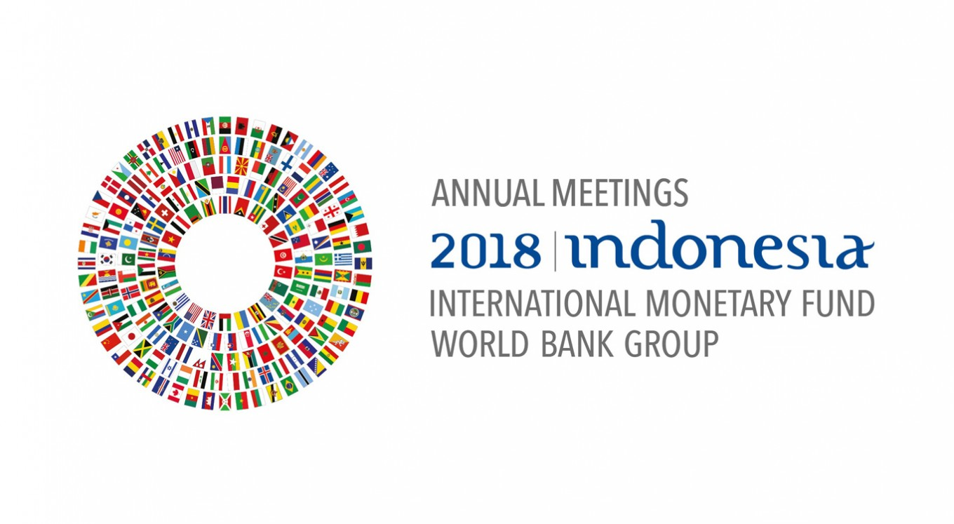2018 IMF-World Bank Annual Meetings daily updates - Tuesday, October 9