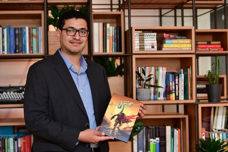 Legendary Arab poet Antara rises as comic book superhero