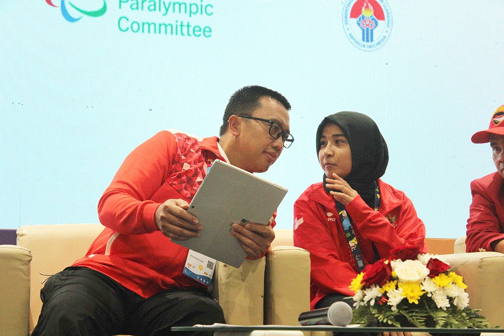 Asian Para Games: Indonesian judoka out after 'wanting to break' rule by wearing hijab
