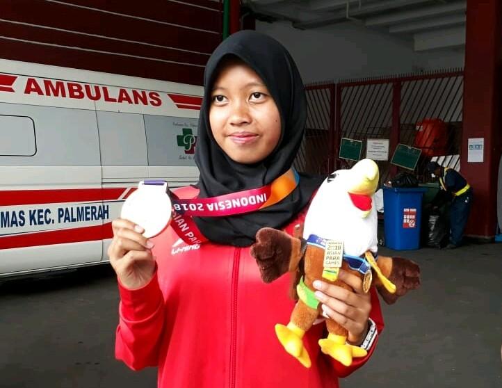 Asian Para Games: Karisma Tiarani wins Indonesia's ninth gold
