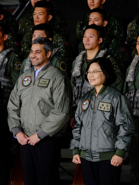 China 'seriously challenging' Taiwan peace: Tsai