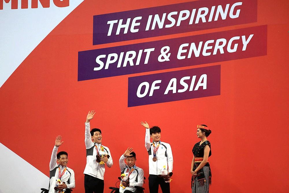 Asian Para Games: Unified Korea nails bronze in swimming