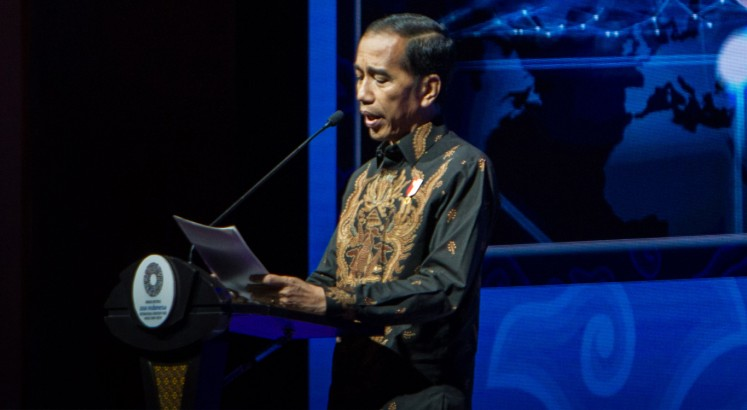 Jokowi stresses experimentation, innovation at Bali Fintech Agenda