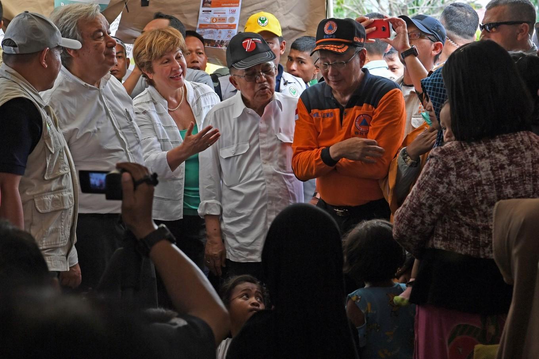UN Secretary General Guterres admires Palu residents' resilience