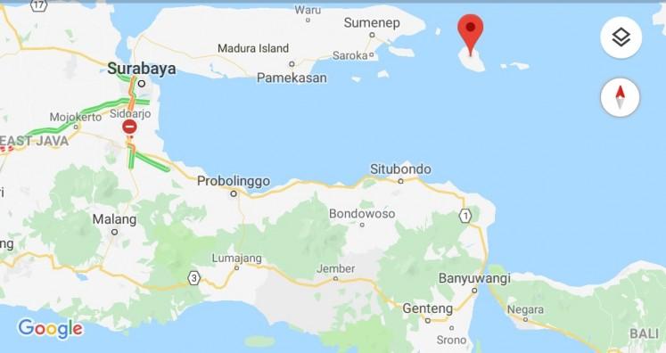 Sapudi Island is located in the eastern part of Java Island. It is part of Sumenep regency, East Java.