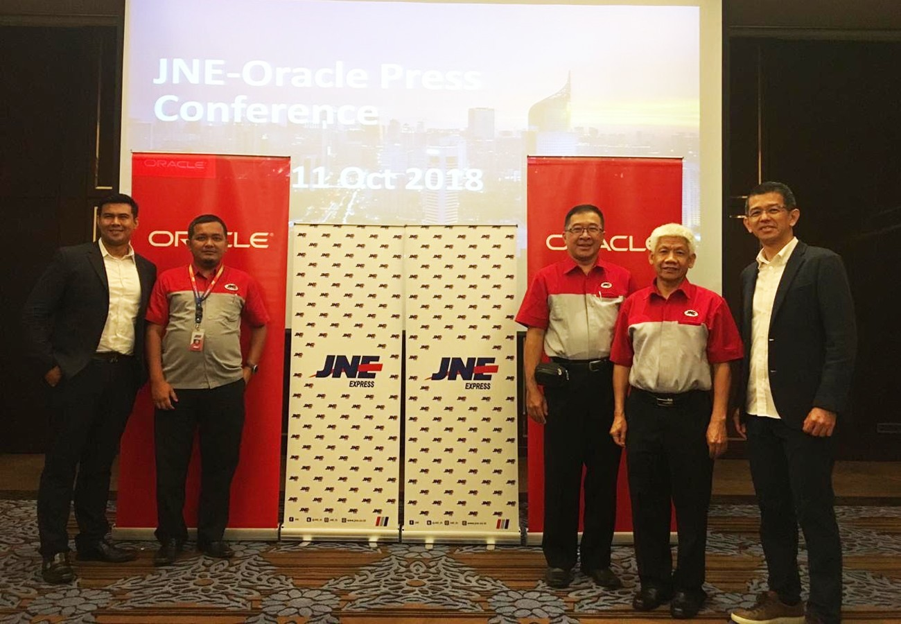Courier service JNE adopts cloud technology