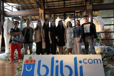 Blibli.com collaborates with five local fashion designers