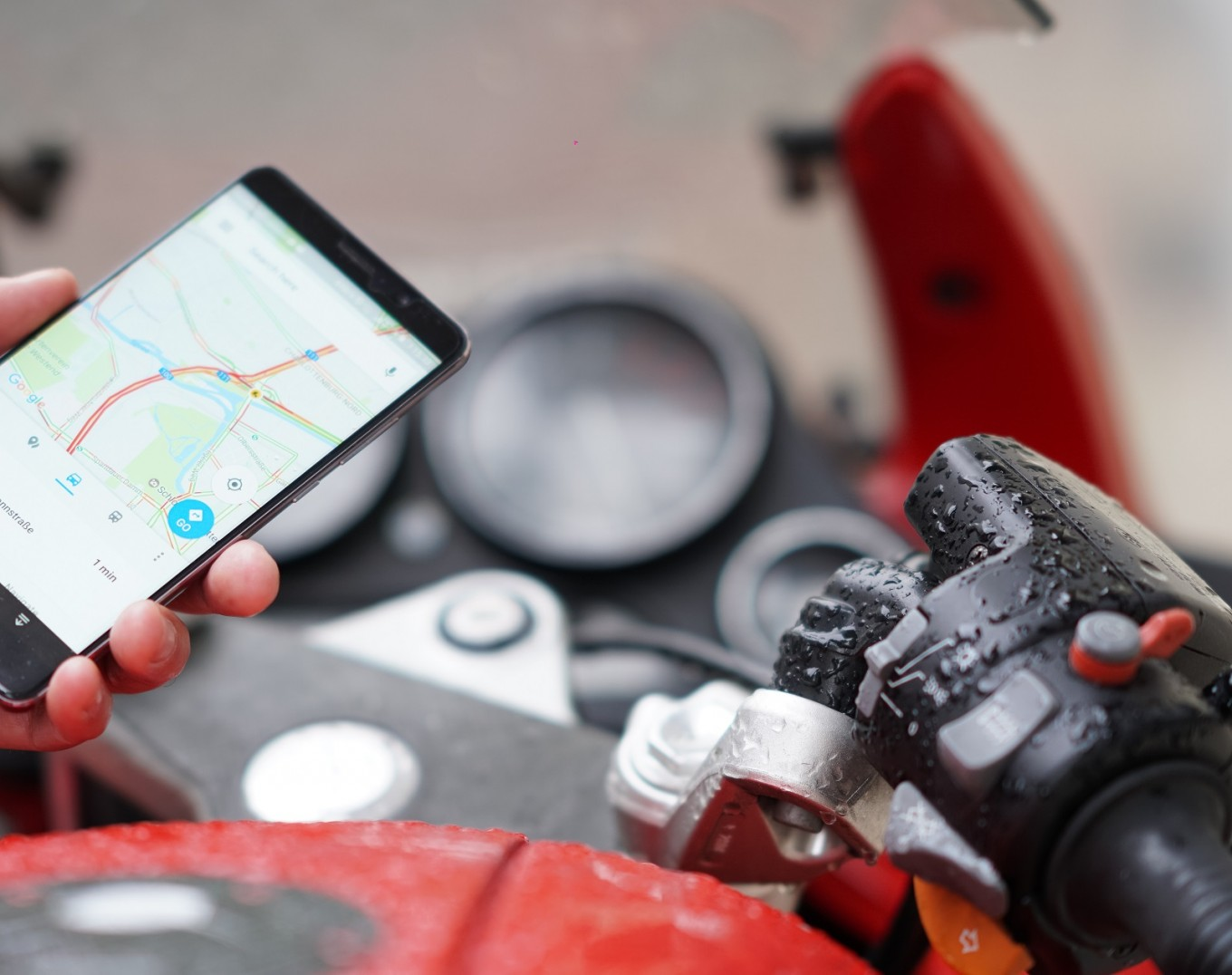 French tourist rides motorbike onto toll road in Google Maps mishap
