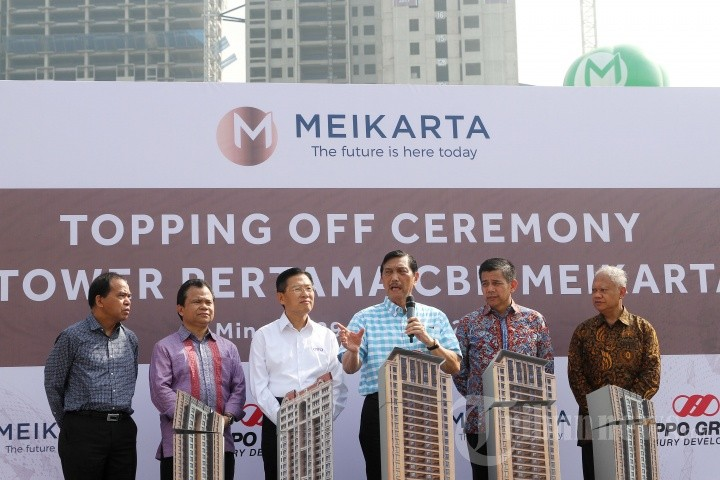 Luhut says he backed Meikarta because he thought permits 'were all done'