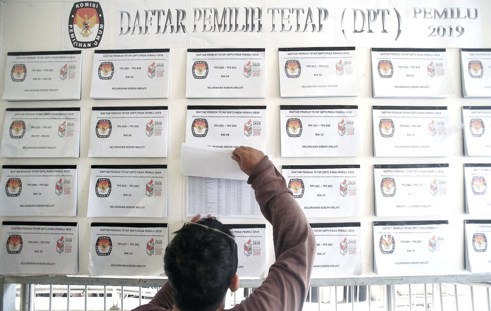 Jakarta aims to increase voter turnout in 2019 general election