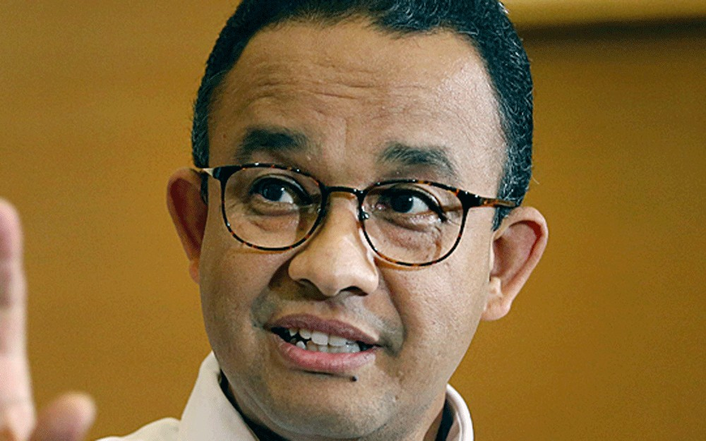 Anies strongest candidate for president among regional heads, survey says