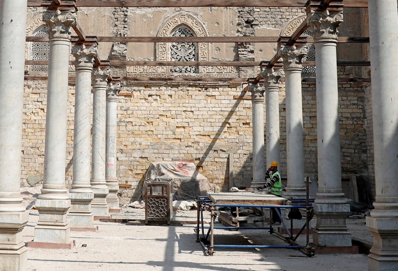 Egypt resumes restoration of historic al-Zahir Baybars mosque