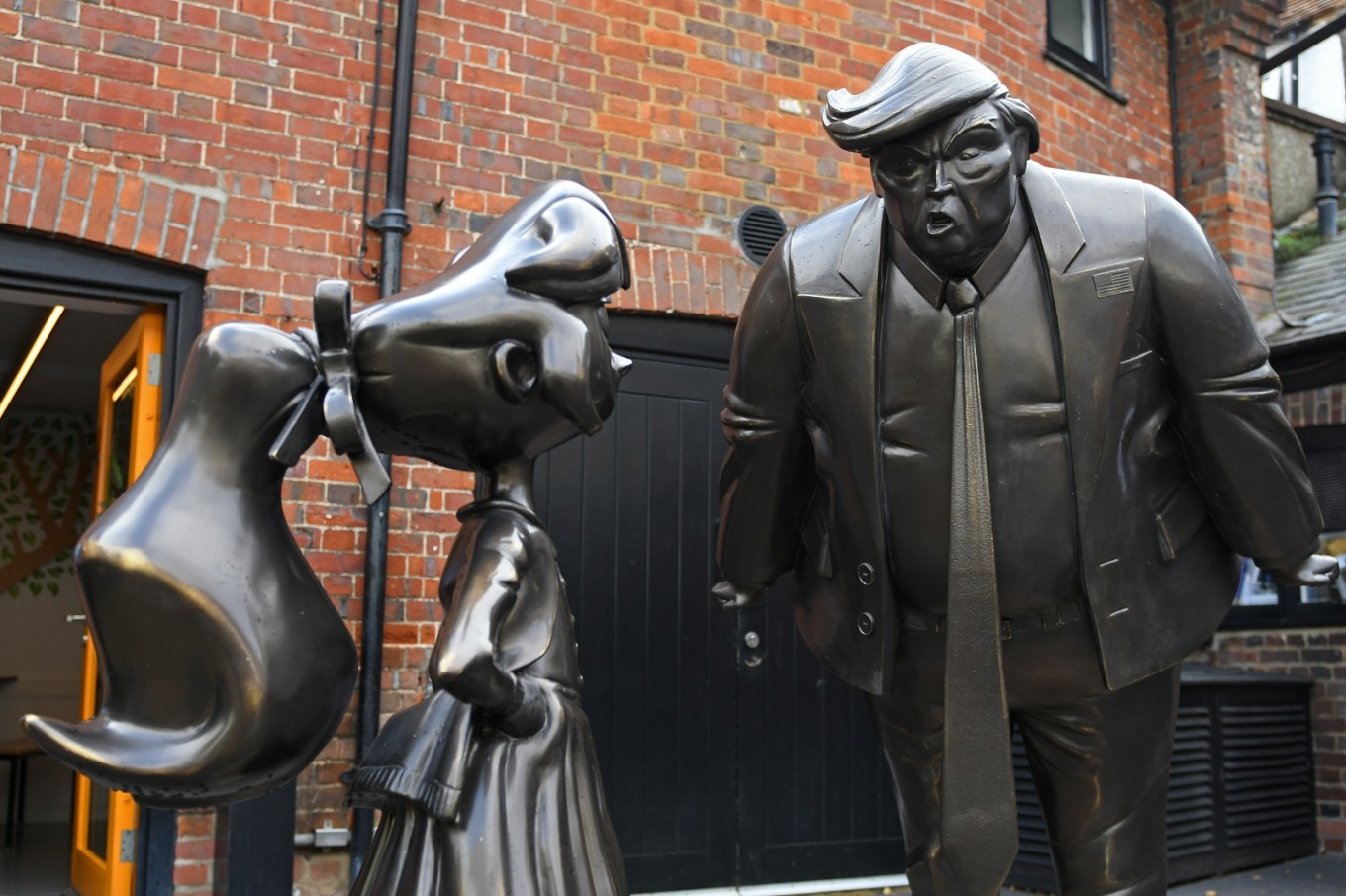Whizzpopping worlds collide at Roald Dahl Museum