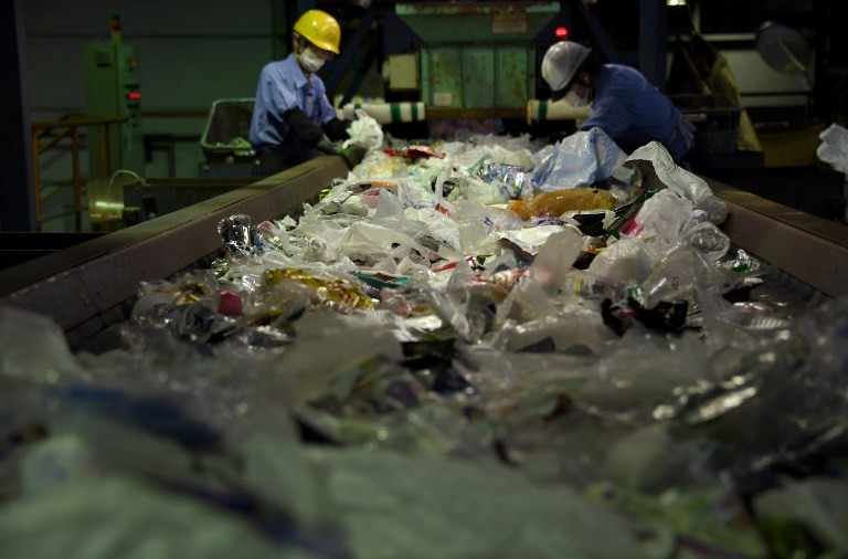 Plastic piling up in Japan after China waste ban: Survey