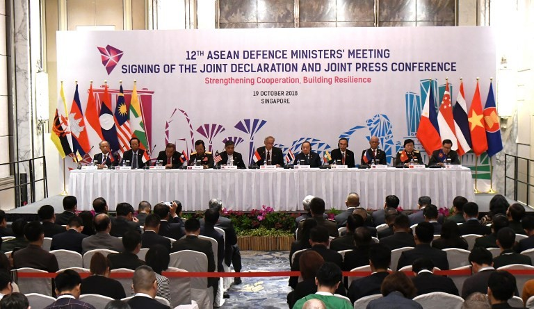 ASEAN defense chiefs ink world's first multilateral air code