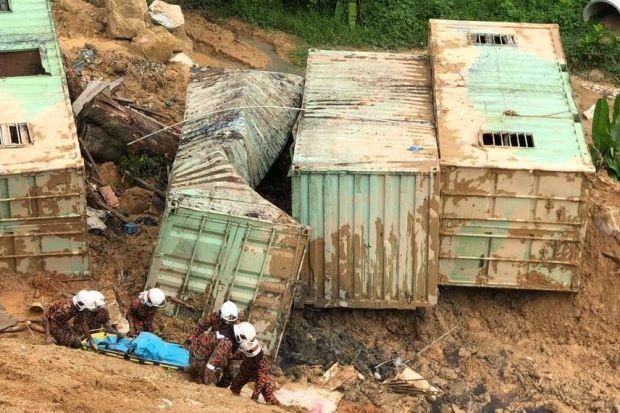 Bangladeshi, Indonesian found dead in Penang landslide