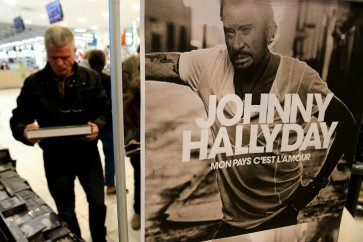 Posthumous Hallyday album sells 300,000 on first day