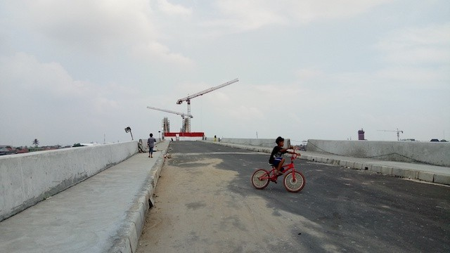 Jembatan Musi IV tahan gempa, Palembang, Sumatra Selatan | Foto: Yulia Savitri / Jakarta post