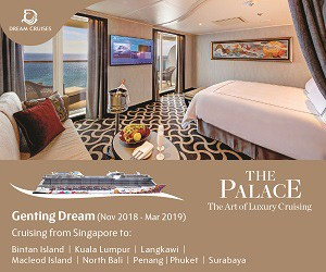The Palace Provides Luxurious Cruise Experience