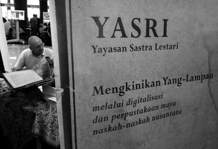 Saving Javanese Ancient M Cript