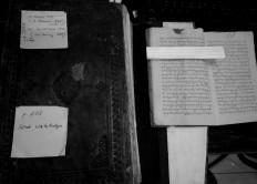The identification of manuscripts is part of the preservation process. JP/Ganug Nugroho Adi