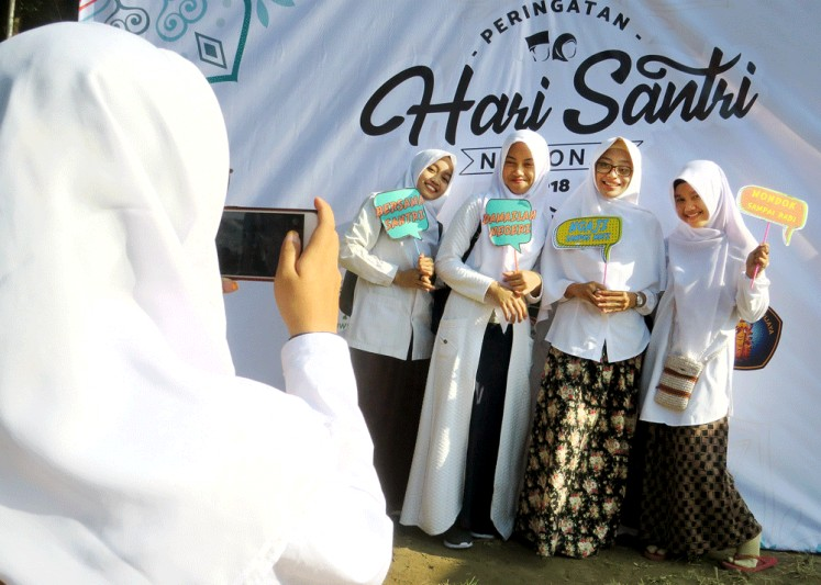 The Santripreneur program, described as a cooperative initiative between religious education institutions and the business sector, will be available for santri (Islamic boarding school students) and students in religious education institutions.
