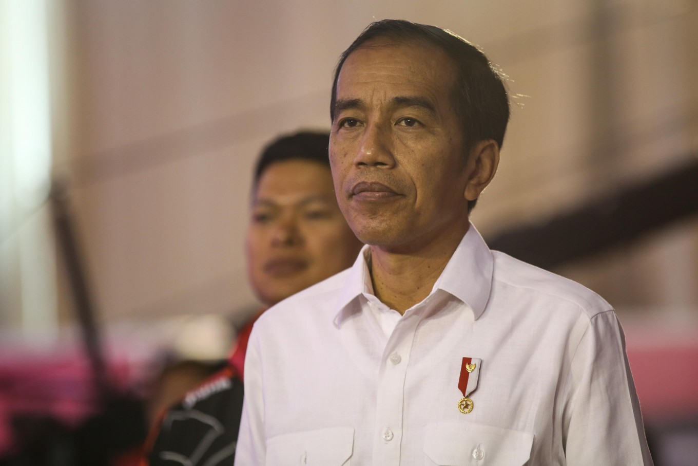 Jokowi fumes over pork barrel accusation on subdistrict fund