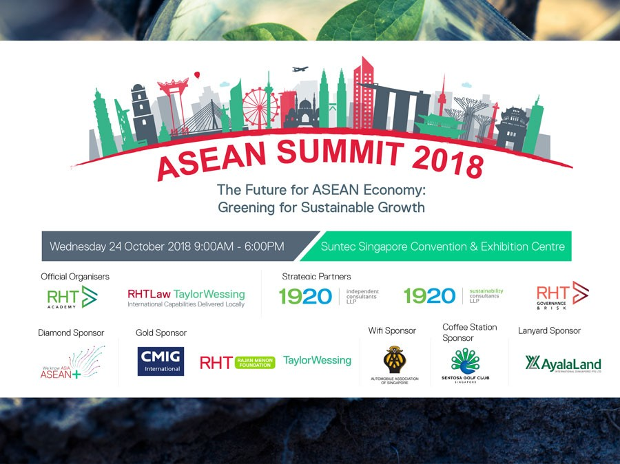 Singapore to host RHT ASEAN Summit 2018 to boost sustainable growth