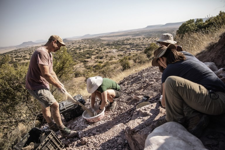 'Dinosaur country': Fossil hunters' South African paradise