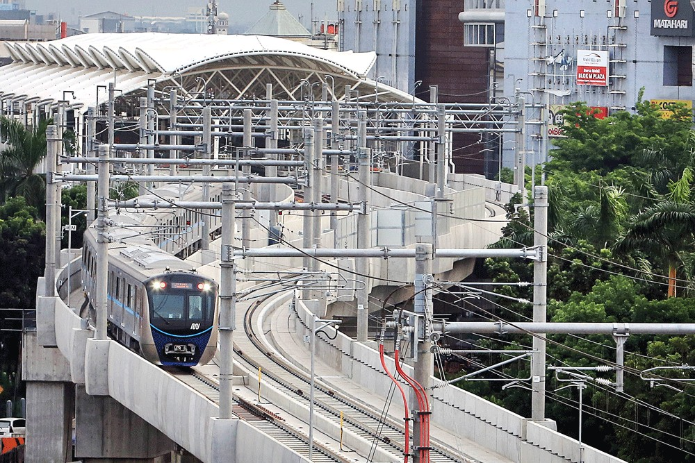 Indonesia, JICA sign deal on loan for MRT Phase II project
