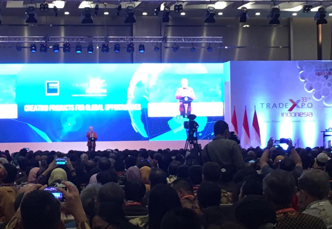 Jokowi launches 33rd Trade Expo Indonesia