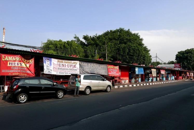 Jakpost guide to Jl. Kramat Raya