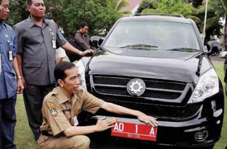 Government not involved in Esemka car production: Jokowi