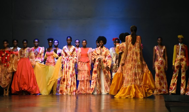 Lagos designers champion 'unapologetically African' fashion