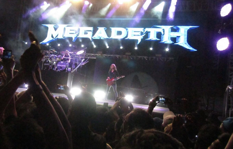 Megadeth rocks around 15,000 fans in Yogyakarta