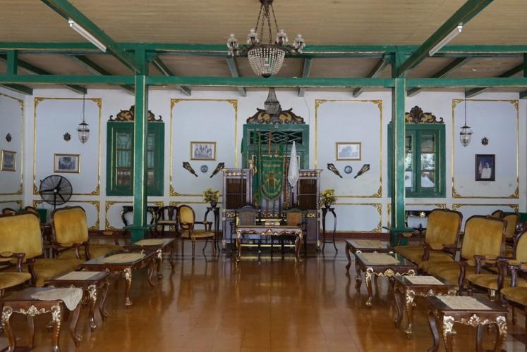 Inside Keraton Kacirebonan.