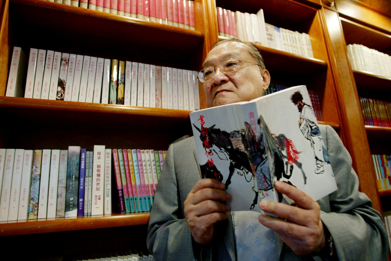 Outpouring of grief after death of celebrated martial arts novelist Louis Cha